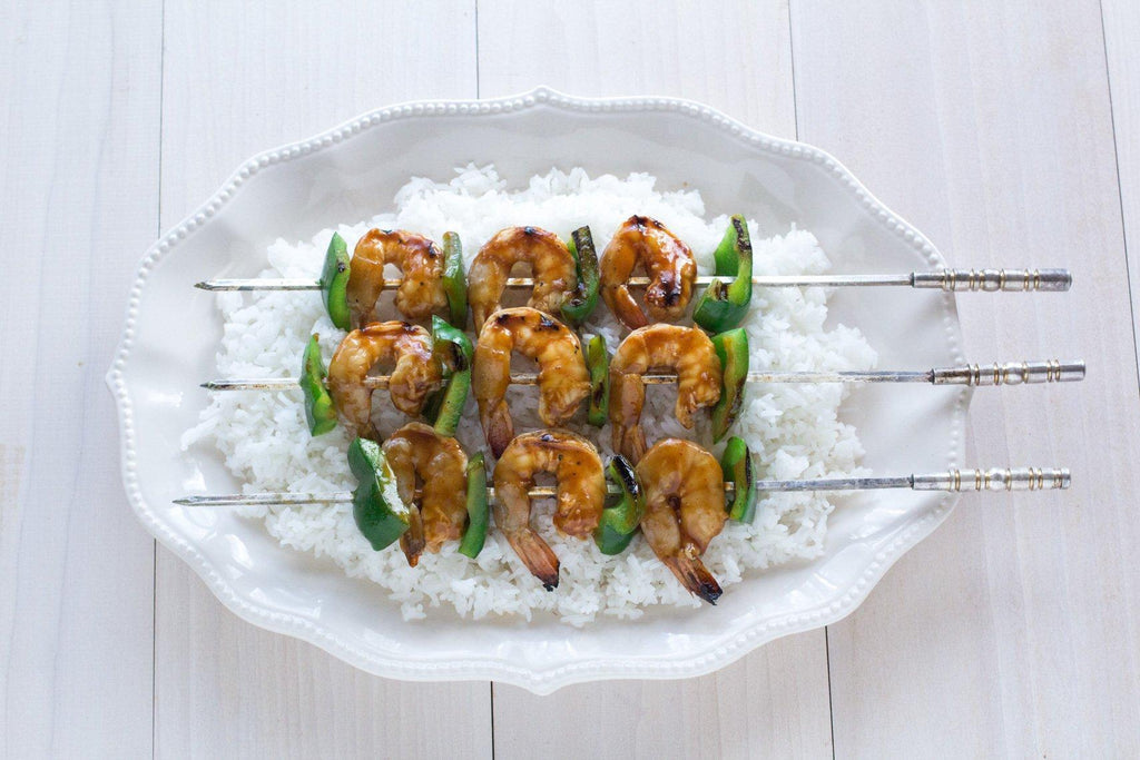 low-fodmap-korean-BBQ-shrimp