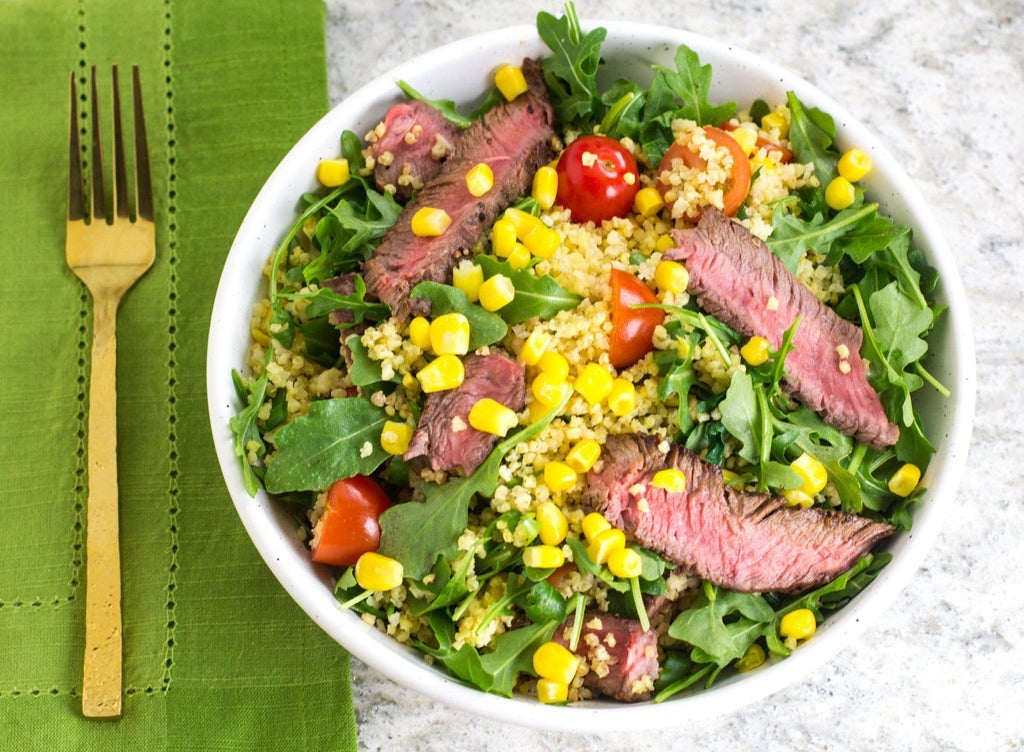 Fody's Steak & Millet Low FODMAP Grain Bowl