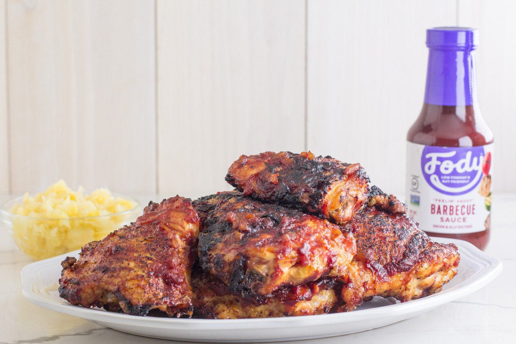 Fody's Grilled Pineapple Low FODMAP BBQ Chicken