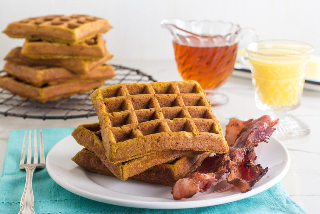 low-fodmap-pumpkin-spiced-waffles