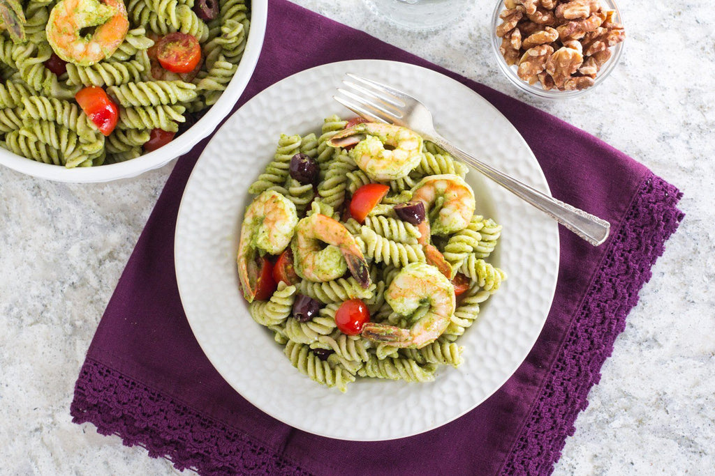 low-fodmap-shrimp-pasta