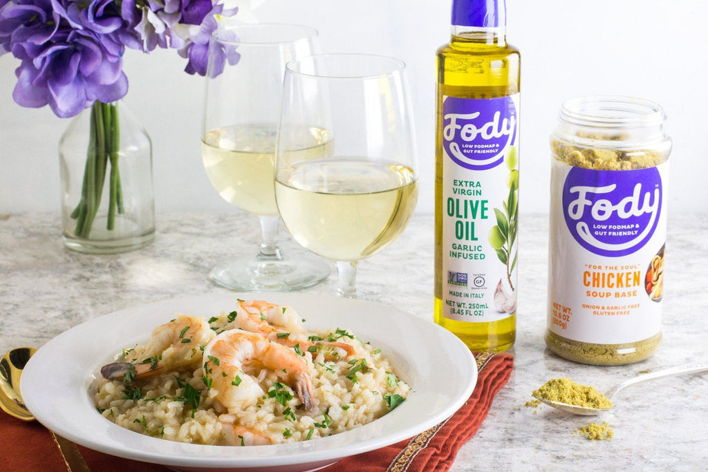 low-fodmap-shrimp-risotto