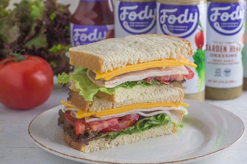 Low FODMAP Sandwiches from FODY