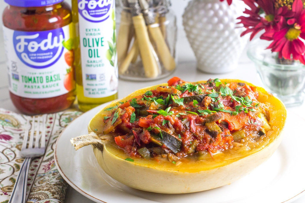 low-fodmap-stuffed-spaghetti-squash