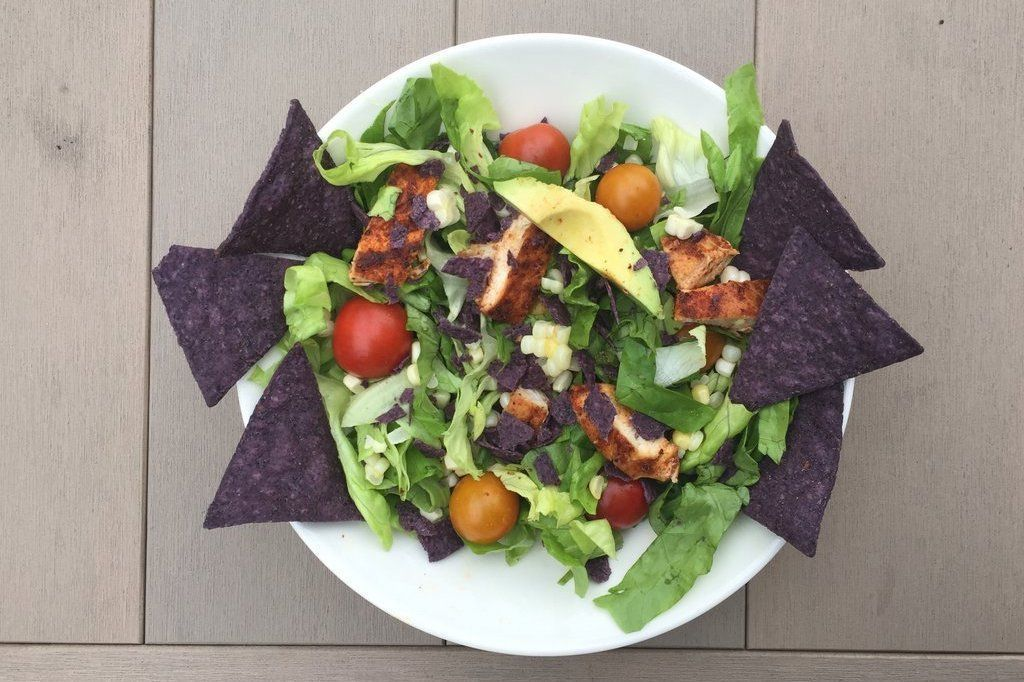 Low FODMAP Taco Salad Recipe