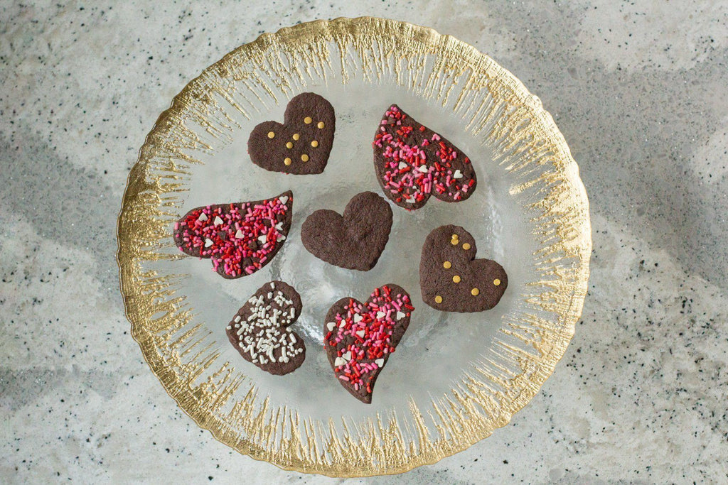 Low FODMAP Chocolate Shortbread Cookies