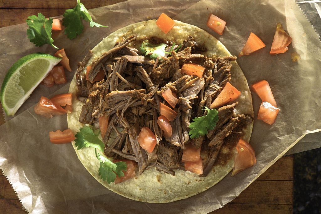 Slow Cooker, Low FODMAP Pulled Pork Tacos