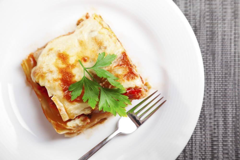 Low FODMAP Lasagna with Spinach