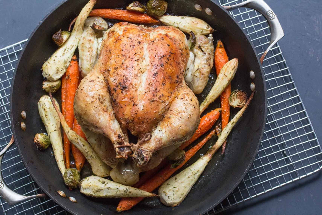 One-Pan Low FODMAP Chicken & Veggies Recipe