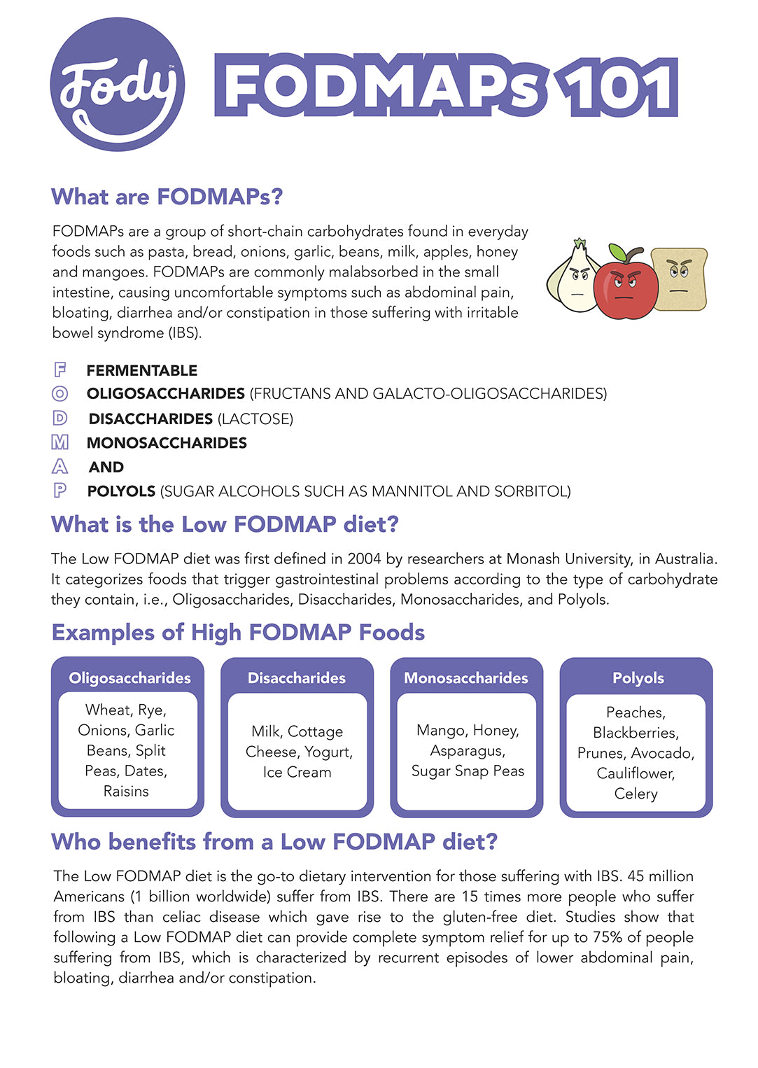 What are fodmaps fodmap foods for beginners fody foods what are fodmaps publicscrutiny Images