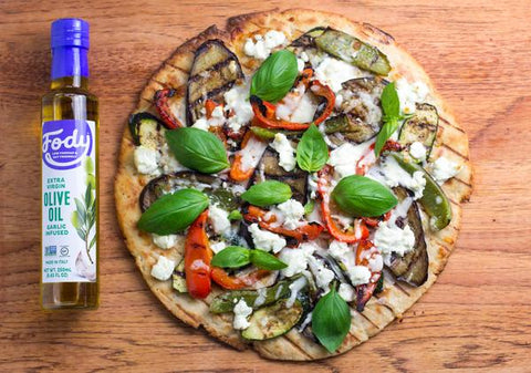low-fodmap-goat-cheese-pizza