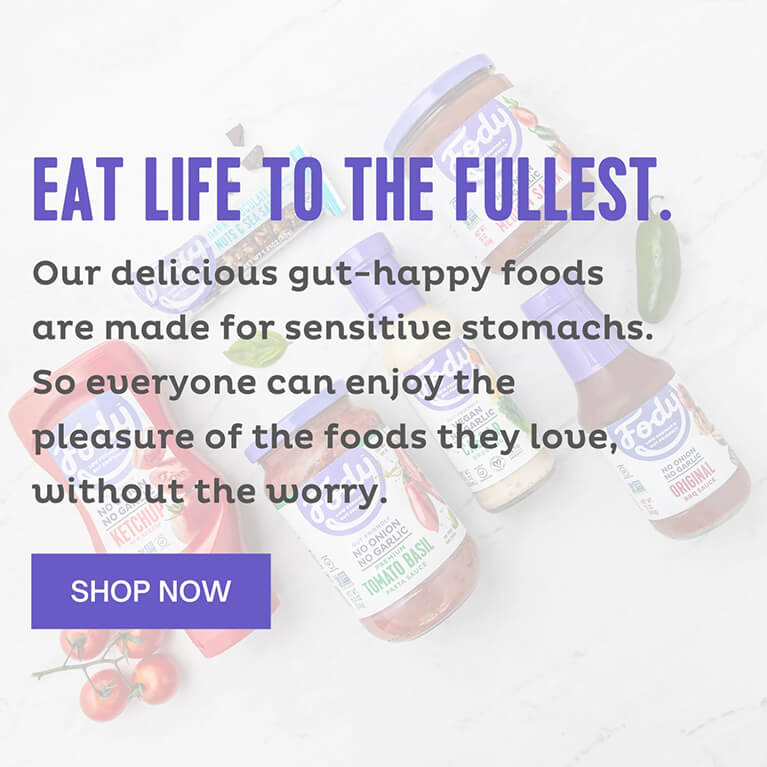 Enjoy delicious foods, free from IBS with our satisfying selection of Low FODMAP products.