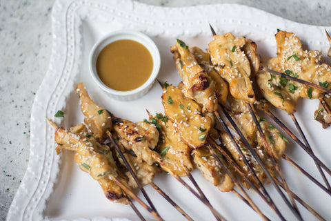 low-fodmap-ginger-chicken-skewers