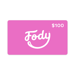 Give the gift of choice <br><b><big>FODY's Low FODMAP Foods <br>Gift Card </big></b><br><small>$25, $50, $100, $150, $200, $250 Variants</small>