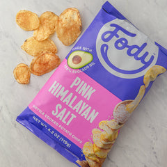 fody pink himalayan salt kettle chips