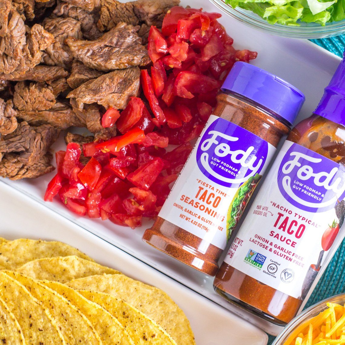 Low FODMAP <br><b><big>Taco Seasoning </b></big><br><small>No Onion, No Garlic & Gluten-Free!</small>