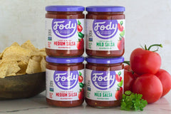 Low FODMAP <br><b><big>Medium Salsa </big></b><br>6-Pack<br><small>Gluten Free</small>