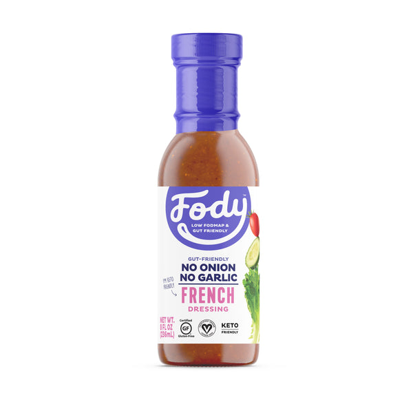 Low FODMAP <br><b><big>French <br>Salad Dressing </big></b><br><small>No Onion, No Garlic, Lactose & Gluten-Free!</small>