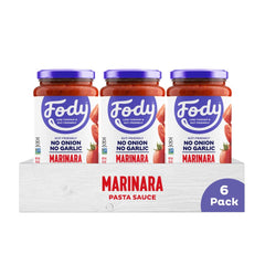Low FODMAP <br><b><big>Marinara Pasta Sauce </big></b><br>6-Pack <br><small>No Onion, No Garlic & Gluten-Free!</small>