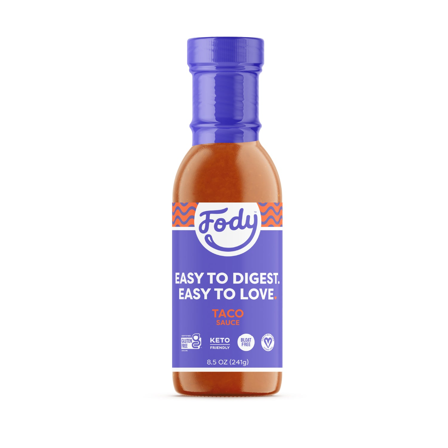 Low FODMAP <br><b><big>Taco <br>Sauce </big></b><br><small>No Onion, No Garlic, Lactose & Gluten-Free!</small>