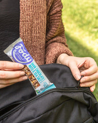 Low FODMAP <br><b><big>Dark Chocolate <br>Nuts & Sea Salt Bars <br></big></b>(Box of 12) <br><small>Lactose & Gluten Free</small>