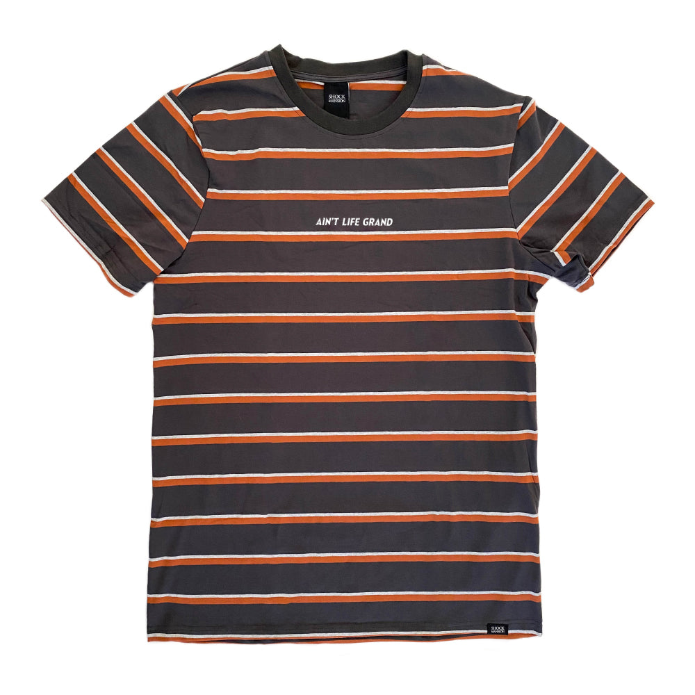 Ain't Life Grand Striped Tee