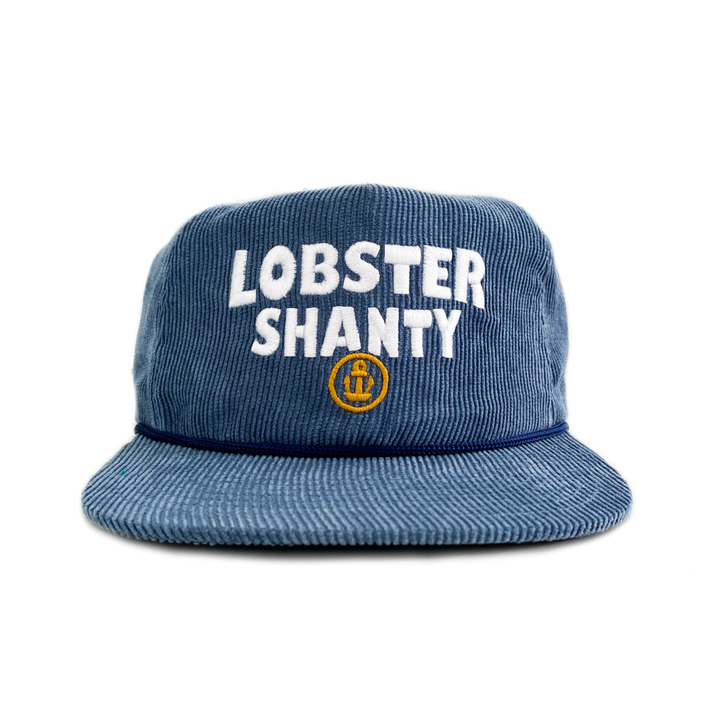 The Lobster Anchor Steel Blue Snapback