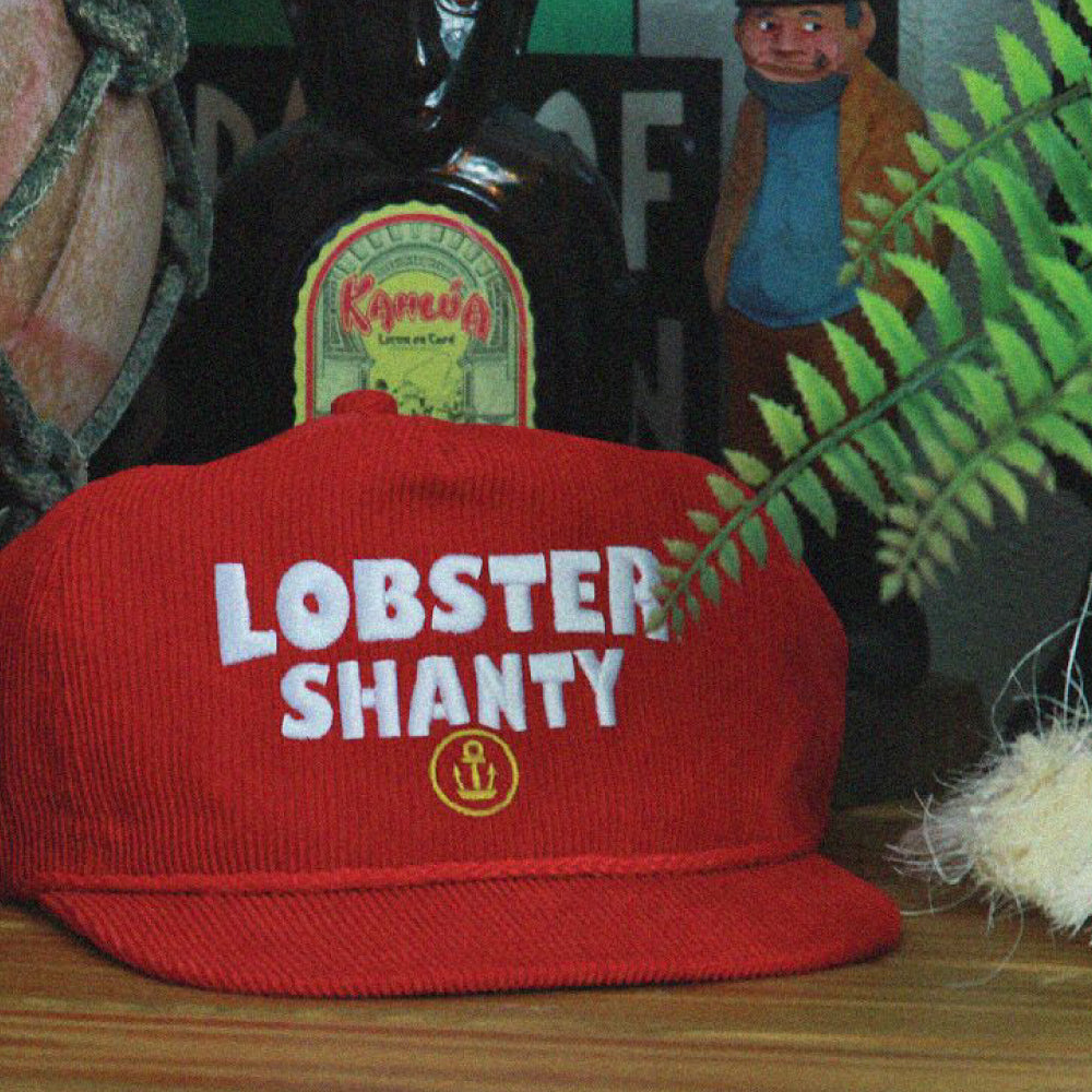 The Lobster Shanty Anchor Reds Snapback.