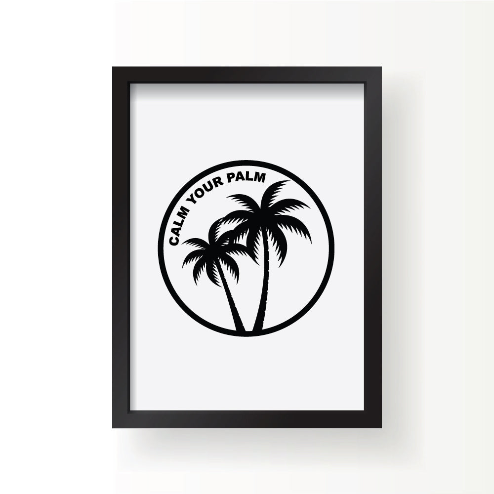Calm Your Palm Print