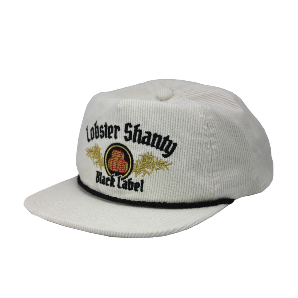 The Lobster Black Label Snapback - Off white