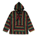 Men's Baja - Large Red Yellow & Green