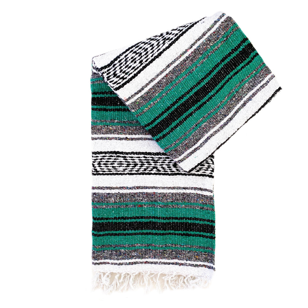 Small Falsa Blanket - Kelly Green