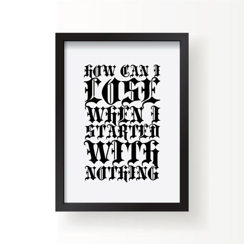 Question Everything Print