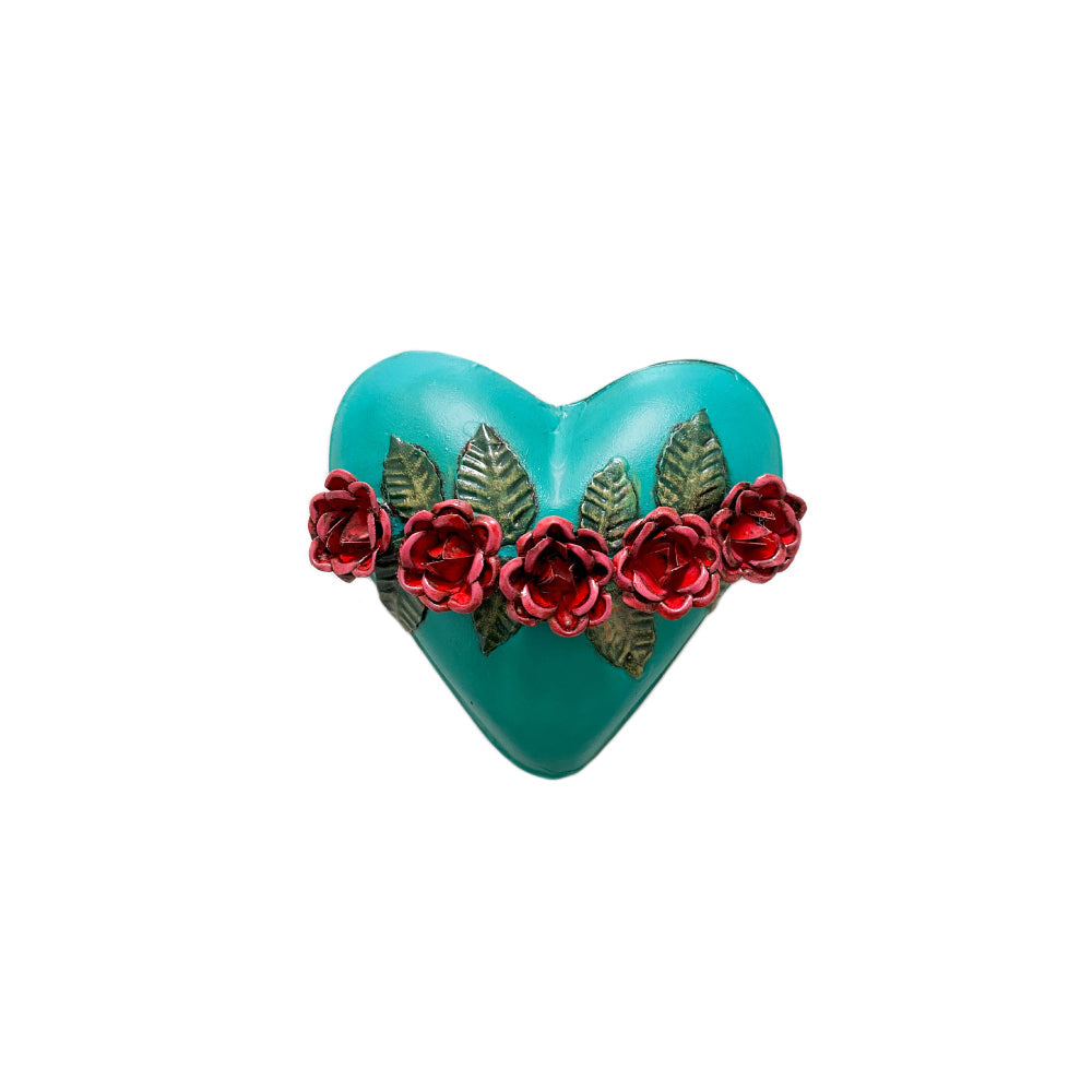 Small Crown Of Roses - Teal