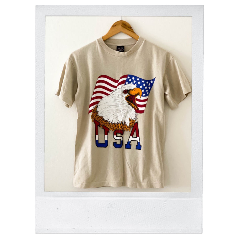 Vintage - USA Eagle Tee SMALL