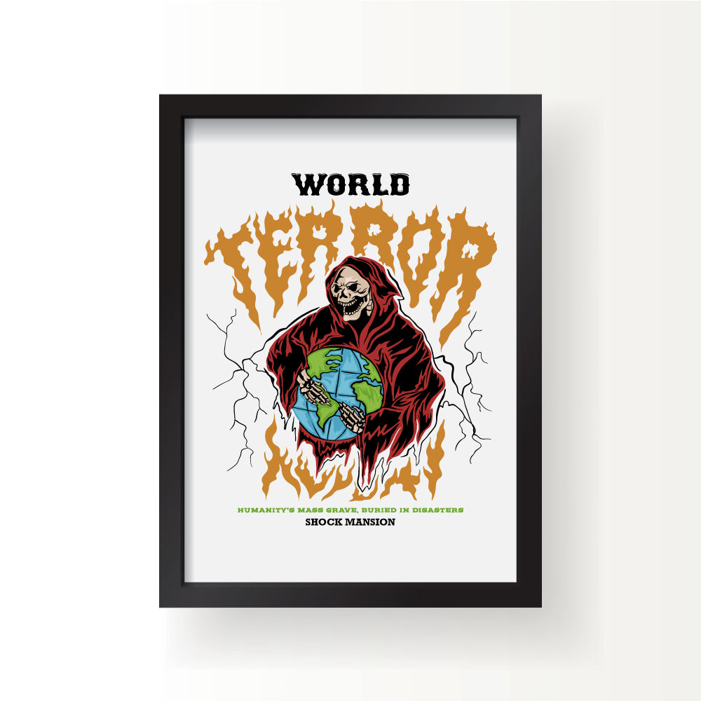 World Tour Print