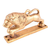 Brass Lion Handle