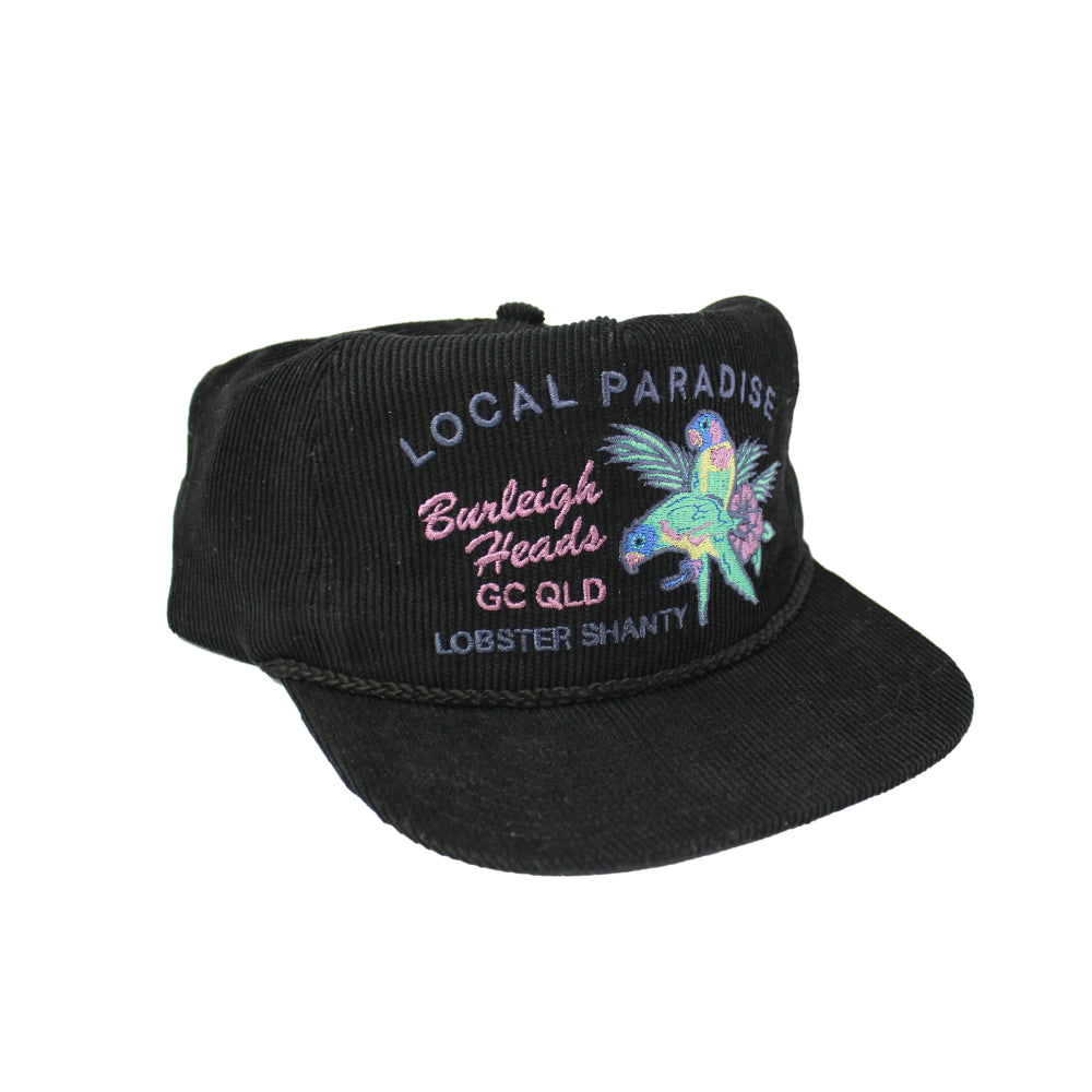 The Lobster Shanty Local Paradise - Vintage Black