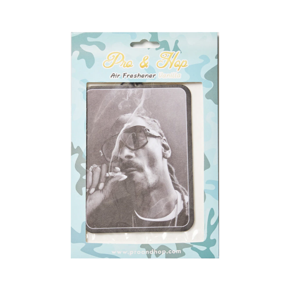 Pro & Hop Snoop Smoking Photo Air Freshener