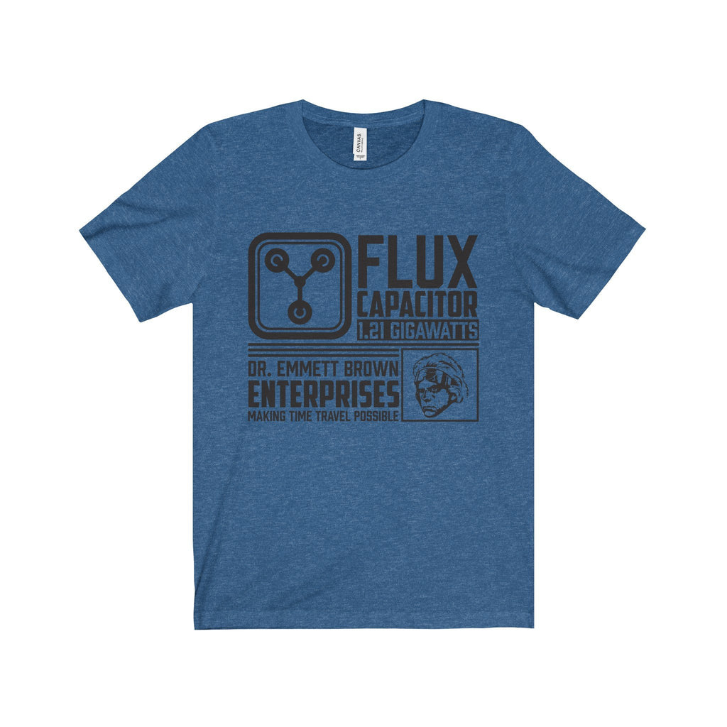 Back to The Future - Flux Capacitor Unisex Tee