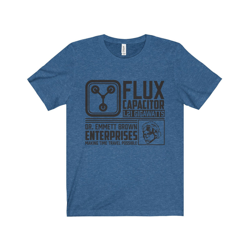 Back to The Future - Flux Capacitor Unisex Tee - Totally Awesome Retro