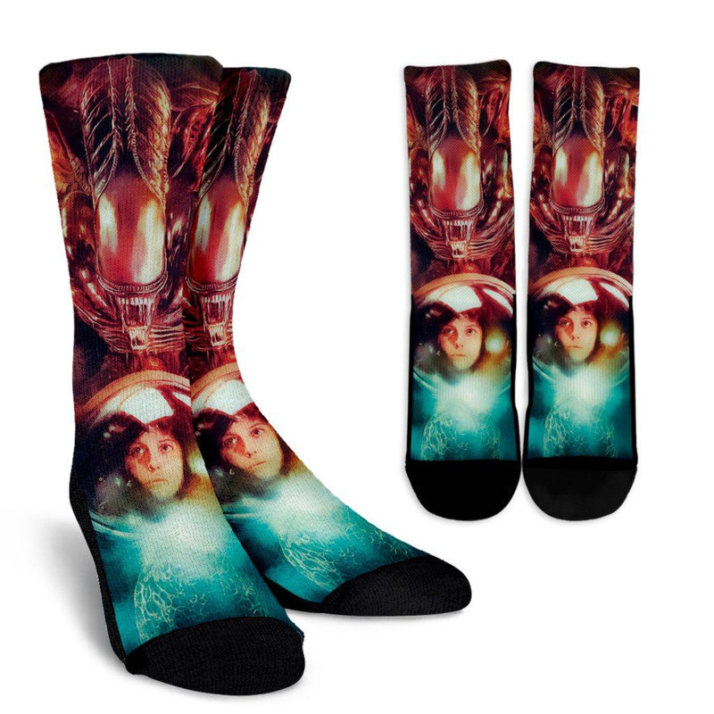 Alien Crew Socks - Totally Awesome Retro