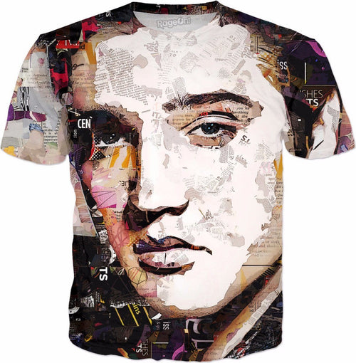 The King Collage All Over Tee