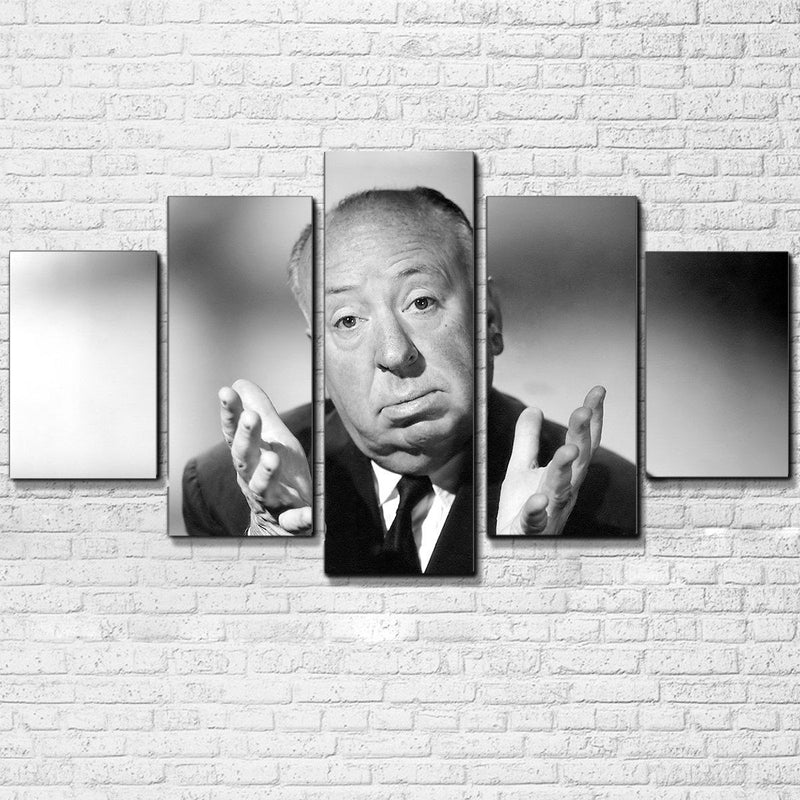 Alfred Hitchcock 5 Piece Canvas Set - Totally Awesome Retro