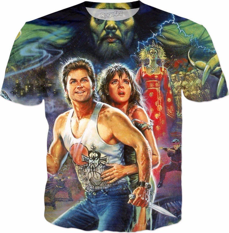 Big Trouble in little China ALL OVER TEE