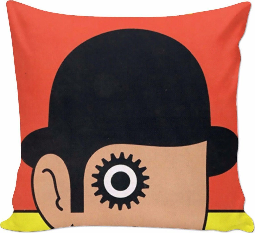 Book Nook Pillow (Clockwork Orange)
