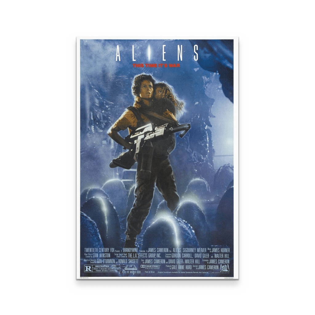 Aliens Canvas - Totally Awesome Retro