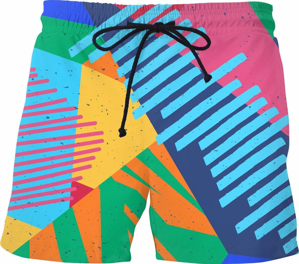 Chaos Theory Swim Trunks