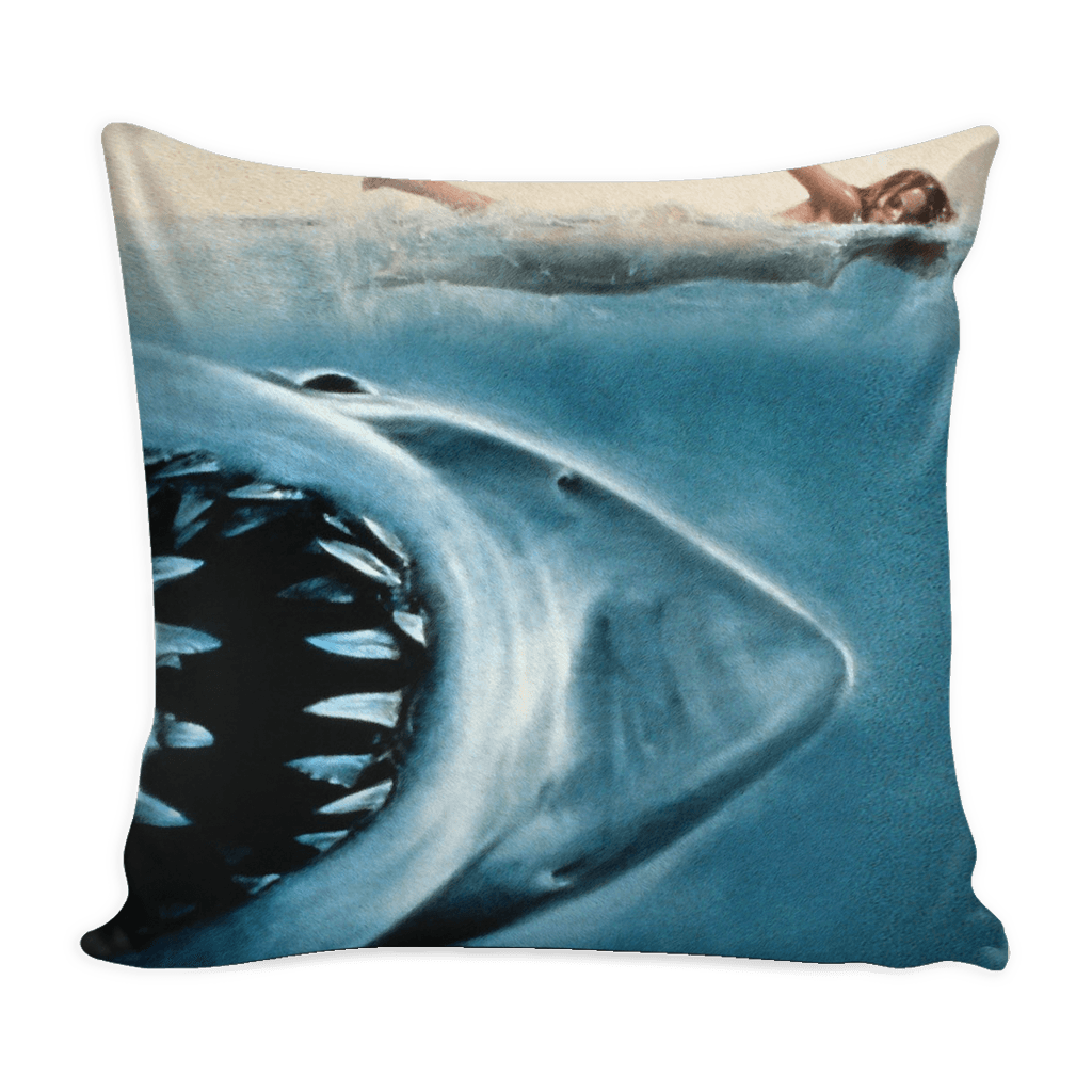Jaws Pillow Case Cover