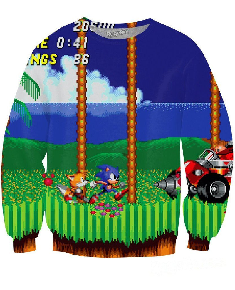 Sonic The Hedgehog Crewneck Sweatshirt